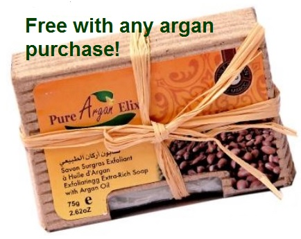Argan soap free